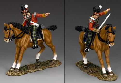 NA292 - Mounted Highland Officer