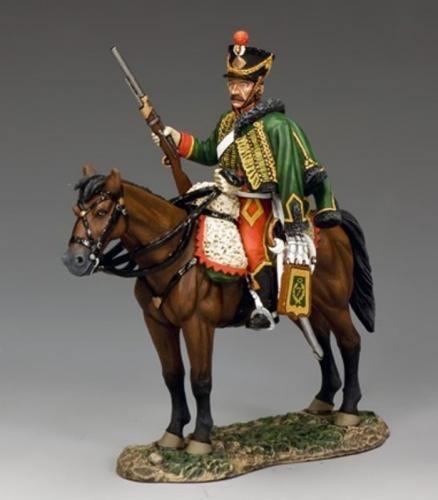 NA302 - French Mounted Hussar with Carbine