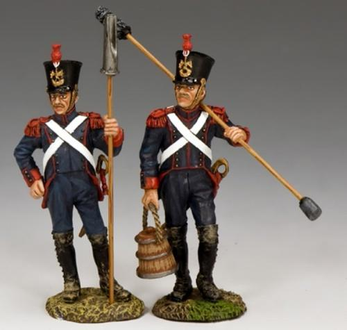 NA332 - French Gunners Set N° 2