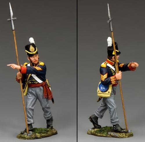 NA344 - Sergeant with Pike
