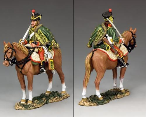 NA353 - 7th Hussar with Standing Horse