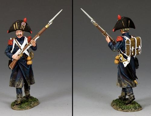 NA390 - Bicorne Grenadier Advancing