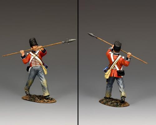 NA419 - British Infantryman with Pike Staff