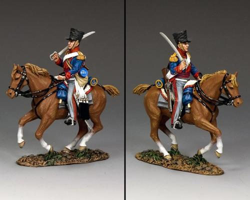 NA431 - King German Legion, Dragoon Movong Forward