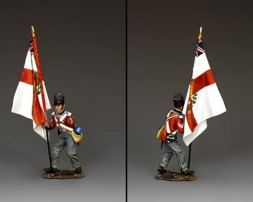 NA436 - The Temporary regimental Standard Bearer