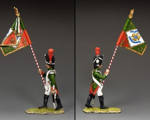 NA458 - Subaltern with Regimental Colour