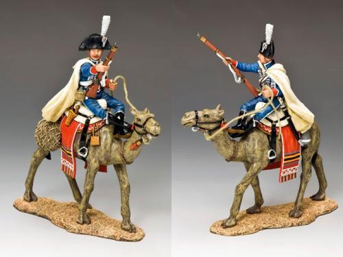 NE028 - Camel Cavalier with Musket