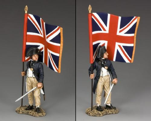 NE047 - R.N. Midshipman with Union Jack - EPUISE mais 1 dernier exmplaire en stock