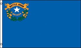 Nevada Flag - Drapeau de l'état américain du NEVADA - EN STOCK