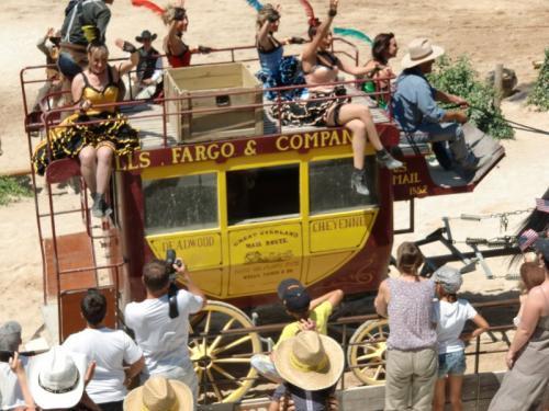 OK Corral - fin spectacle Wells Fargo