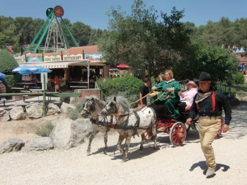 OK Corral - parade en rue charrette poneys