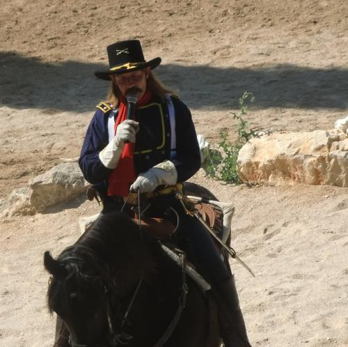 OK Corral - spectacle Custer the last hunt