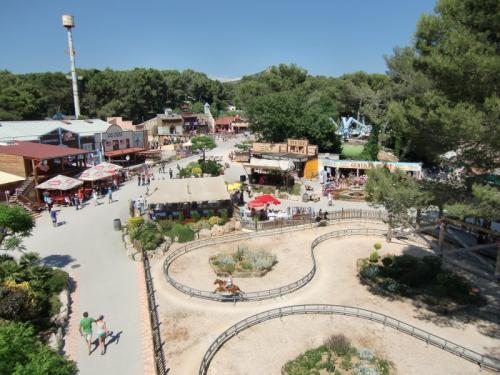 OK Corral - vue du parc