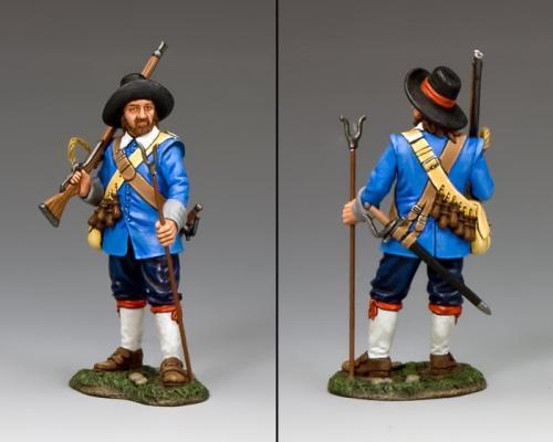 PnM019B - Royalist Standing Musketeer