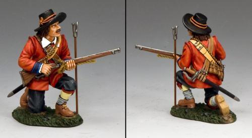 PnM026 - Parliamentary Musketeer Kneeling Make Ready