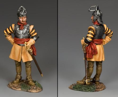 PnM049 - Dismounted Roundhead Officer