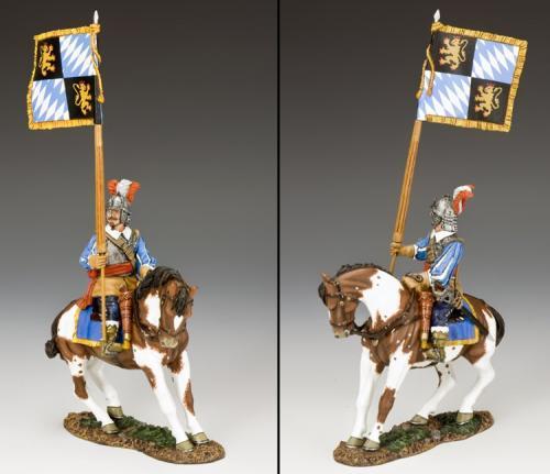 PnM059 - Royalist Mounted Flagbearer