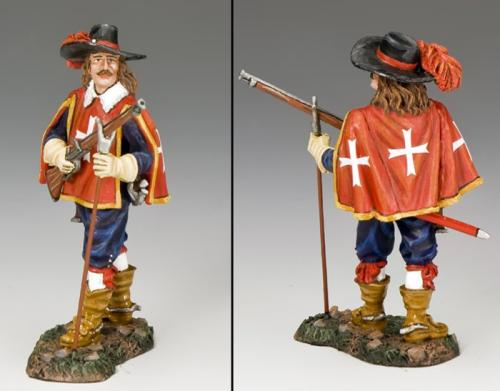 PnM061 - The Cardinal's Guard with Musket At the Ready