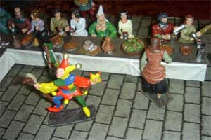 Miiddle Age - Le banquet - le fou du roi - pas de stock