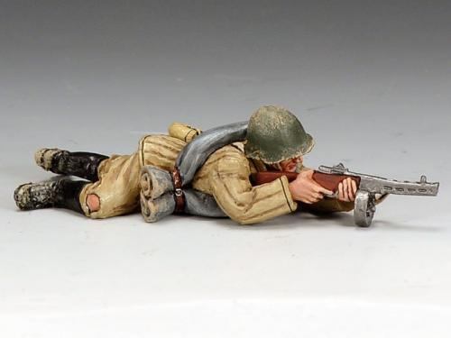 RA020 - Red Army Soldier Lying Prone
