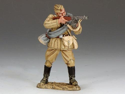 RA021 - Red Army Soldier Standing Firing