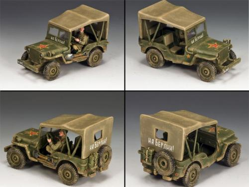 RA030 - Lend-Lease Russian Jeep