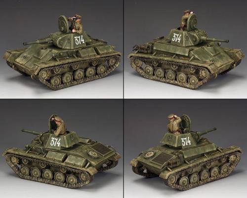 RA054 - Russian T-70 Tank