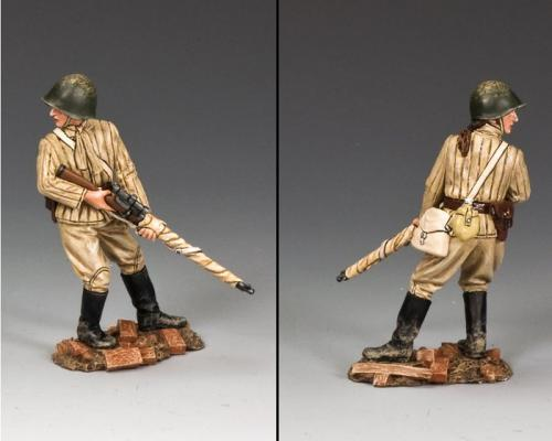 RA055 - Standing Guard Female Sniper