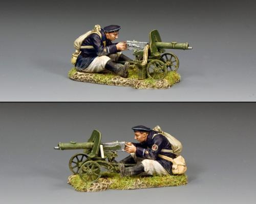 RA087- The Maxim 1910 Machine Gun Set