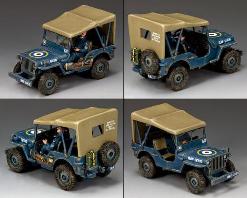 RAF051 - The Royal Air Force Jeep - disponible mi-février