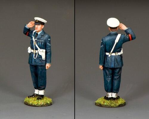 RAF087 - Saluting RAF Policeman