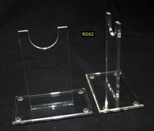 RDS2 - Low Rifle Display Stand - Support en acrylique transparant pour petit fusil (12 X6,5 X 12 cm) - EN STOCK