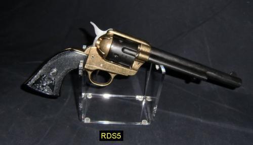 RDS5 - Pistol Stand - présentoir pour armes de poing avec un Colt fabriqué par DENIX - EN STOCK
