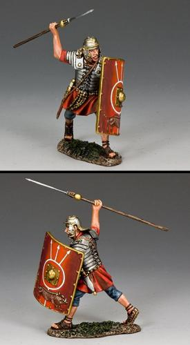 ROM023 - Roman Soldier Throwing Pilum