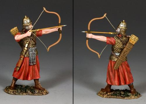 ROM025 - Roman Archer Taking Aim