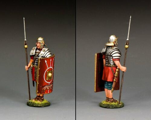 ROM047 - At Attention Roman Legionary with Pilum