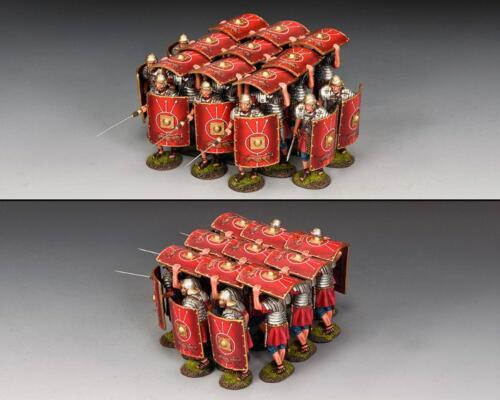 ROM051 - The Roman Testudo (16 figurines)