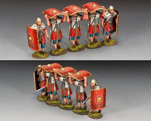 ROM055 - Roman Testudo Reinforcements (5 figurines)