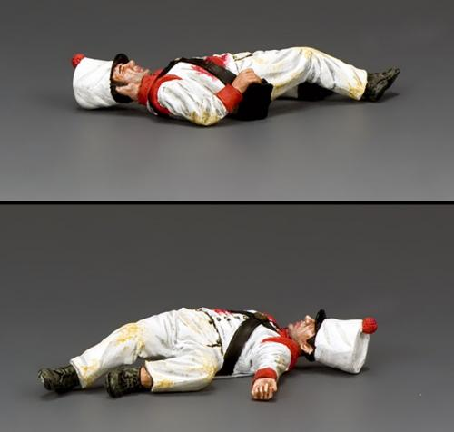 RTA101 - Lying Deaed Mexican Soldier (face up)