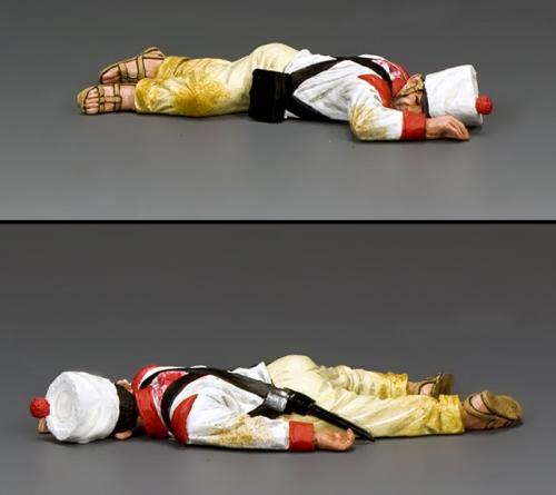 RTA102 - Lying Dead Mexican Soldier (face down)
