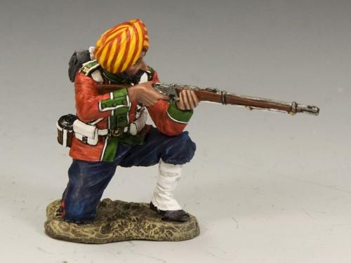 SOE005(G) - Ludhiana Sikhs Regiment Kneeling Firing Rifle(Gloss)