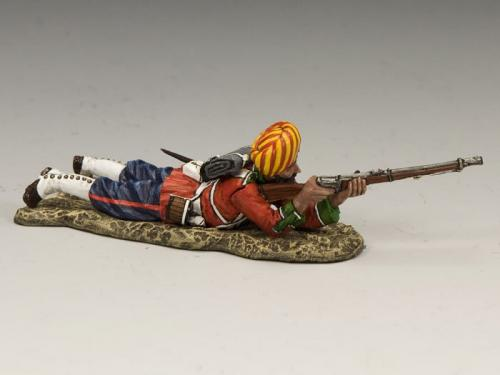 SOE007 - Ludhiana Sikhs Regiment Lying Firing (Matt)