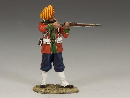 SOE008(G) - Ludhiana Sikhs Regiment Standing Firing (Gloss)
