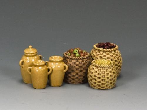 SP059 - Baskets and jars - EPUISE mais 1 derniers et en stock