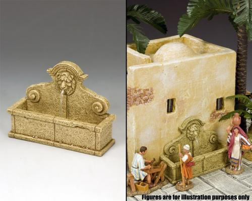 SP073 - The Lion's Head Wall Fountain (Sandstone)