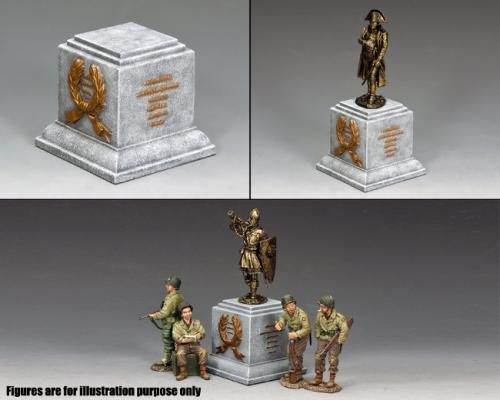 SP074 - Square Statue Plinth (Greystone)