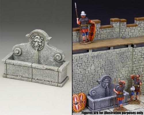 SP081 - The Lion's Head Wall Fountain (Greystone)