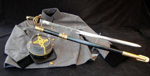 Sabre ACW -SLK4 - Sabre d'officier de cavalerie sudiste (Civil war CSA Cavalry Officer's Sword) - EN STOCK