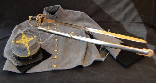 Sabre ACW - SLK7 - Shelby CSA Officers Civil War Sword - EN STOCK