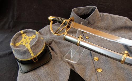 Sabre ACW - SLK8 -Civil War Field  Staff Officers Confederate CS Sword - EN STOCK